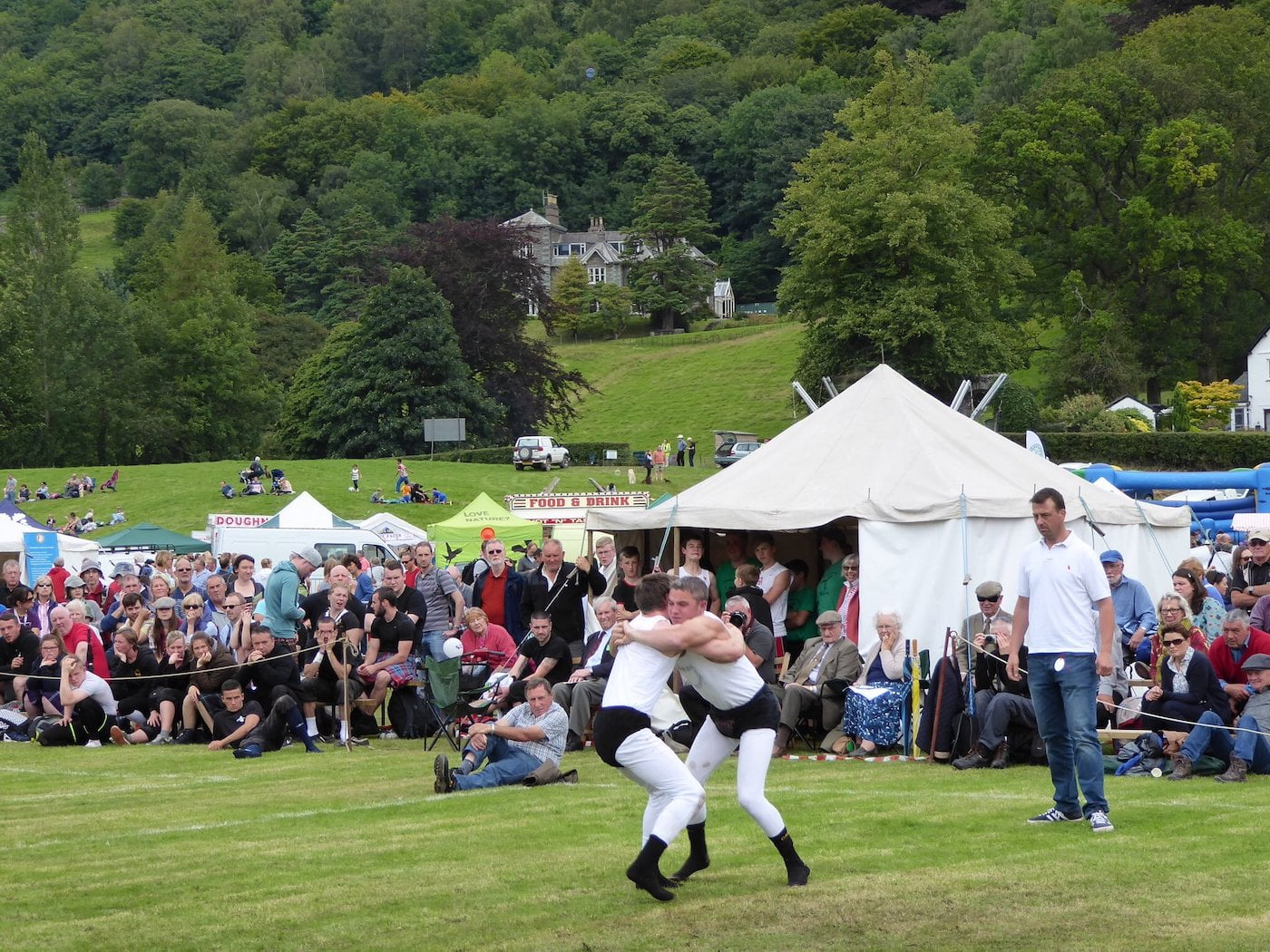 Grasmere Sports Cumbrian Wrestling