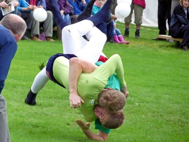 Cumberland Wrestling at Grasmere Show 2012