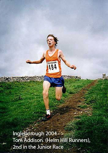Tom Addison Ingleborough 2004 Fell Race