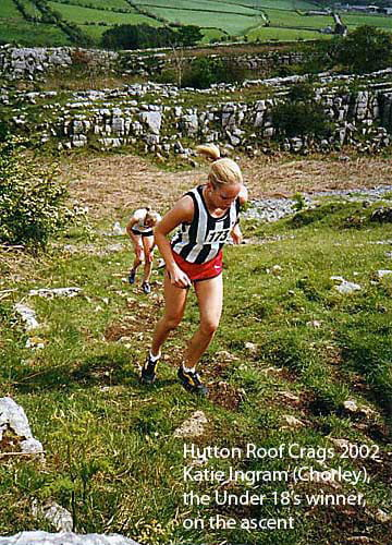 Kate Ingram, Hutton Roof Craggs 2002