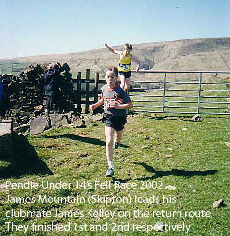 James Mountain, Pendle Under 14s Fell Race 2007