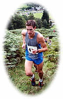Rob Jebb running at Grasmere 2004